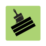 Deck stain icon